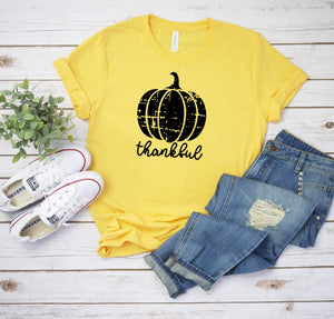 Yellow Gold Thankful T-Shirt
