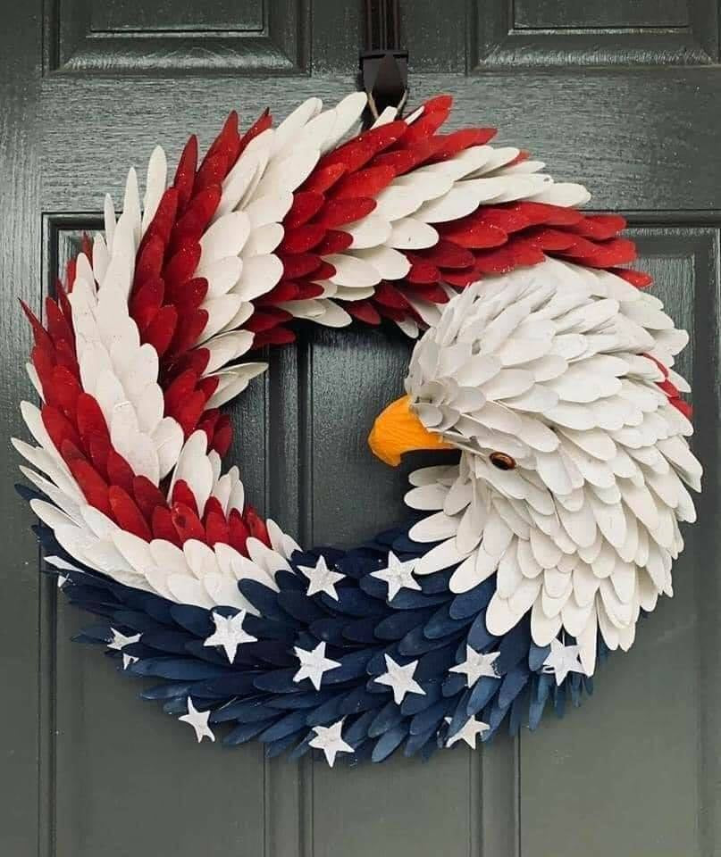 American Eagle Wreath - Shopency