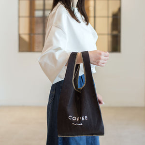 SHOPPING BAG S- denim -