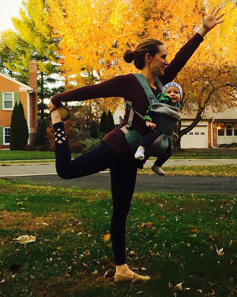 Allison Cline is a pre + post natal birth doula and yoga instructor
