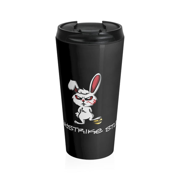 Stainless Steel Travel Mug - BunnyStrike