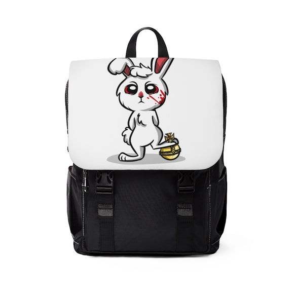 Casual Killer Bunny Shoulder Backpack - BunnyStrike
