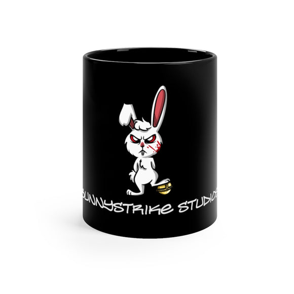 Killer Bunny 11oz Black Mug - BunnyStrike