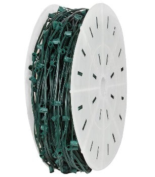 C9 1000′ Green Wire Socket Spool 15″ Spacing SPT-1