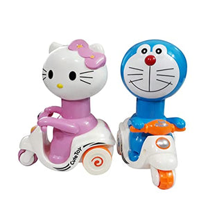 Press & Go Cute Toys (Pack Of Two Pcs)