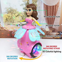 Load image into Gallery viewer, Degree Rotating Musical Dancing Girl Doll