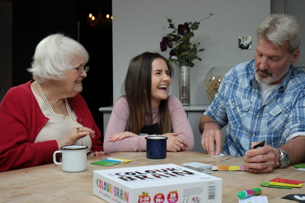 Colour Brain Lifestyle Photo with people laughing