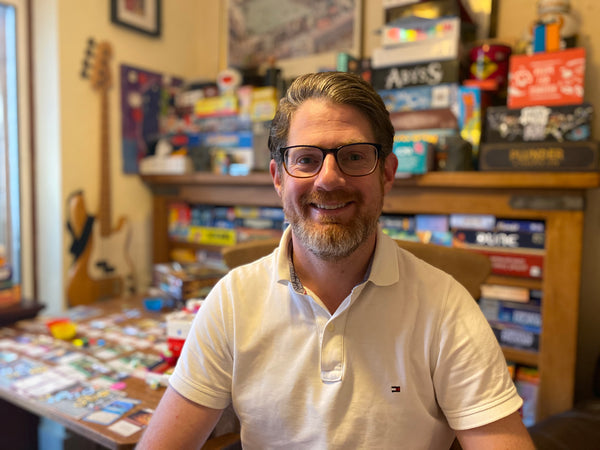 Author of Jim's Board Game Journey Jim
