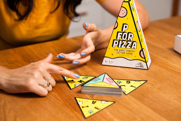 Plastic Free Party Game P for Pizza Lifestyle Photo