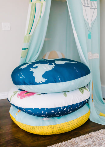 Kids Floor Pillows for playrooms