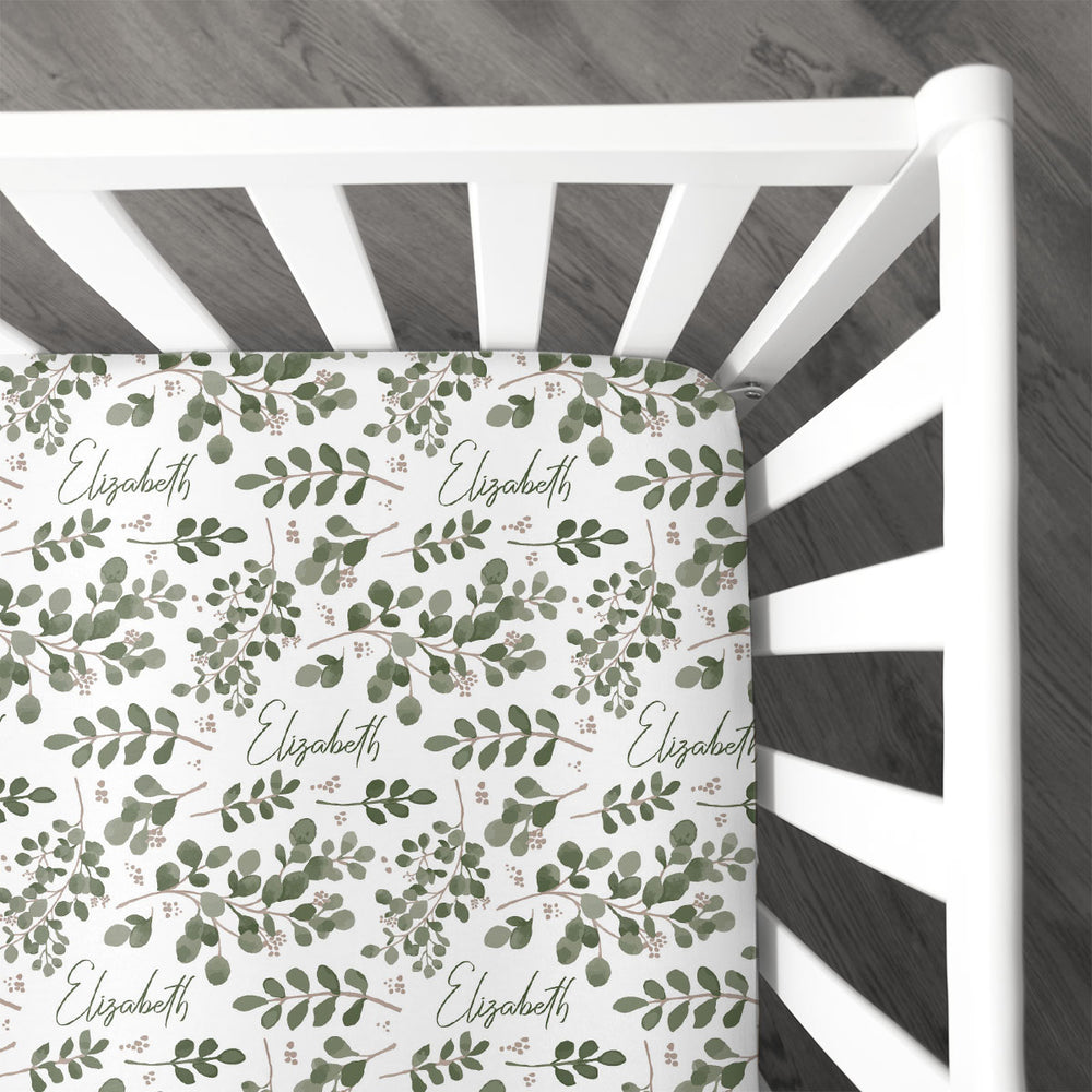 Farmhouse Greenery | Crib Sheet