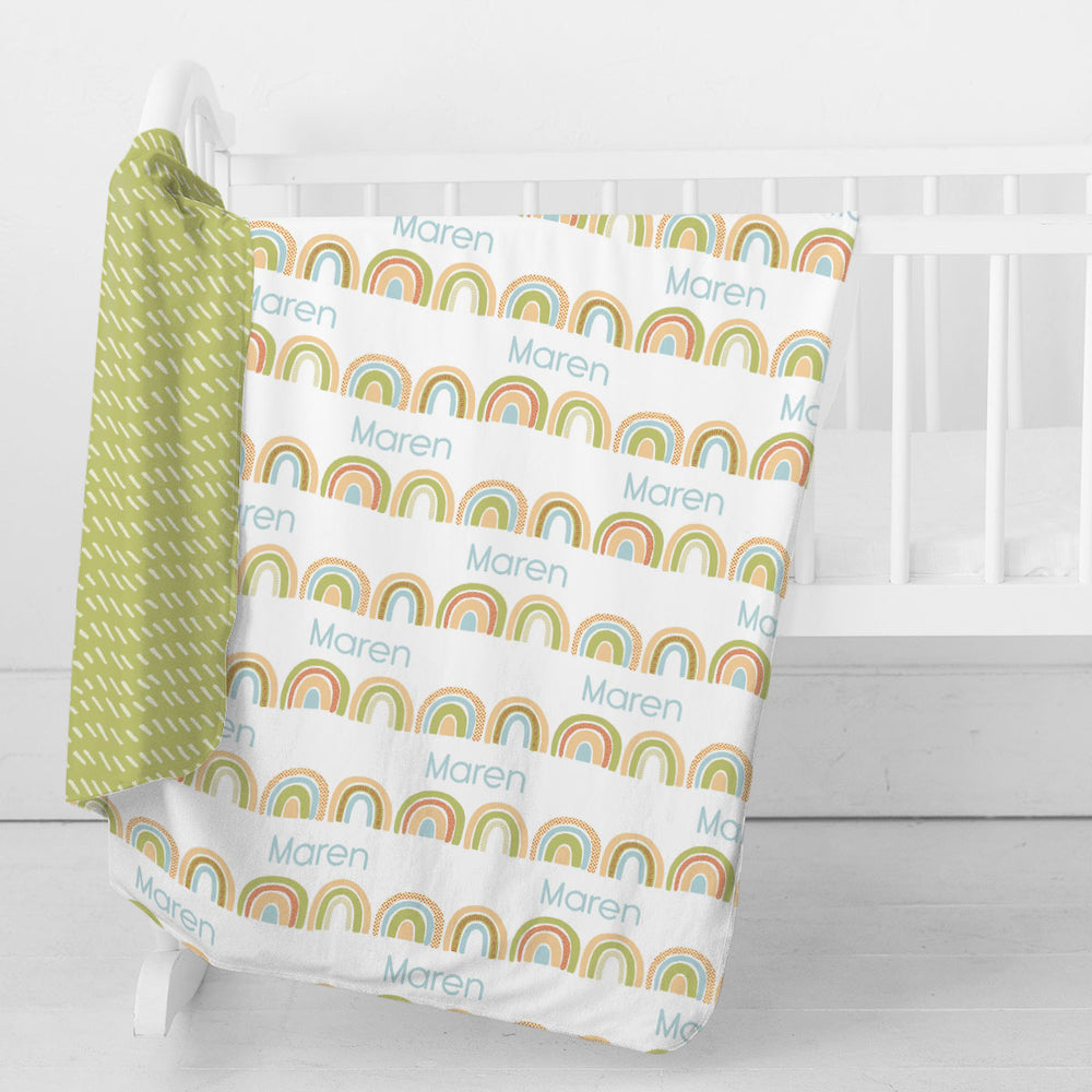 Brilliant Rainbow | Swaddle Blanket