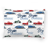 Personalized Stretchy Knit Pillow Case | Car Show