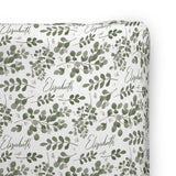 Farmhouse Greenery | Changing Pad Cover