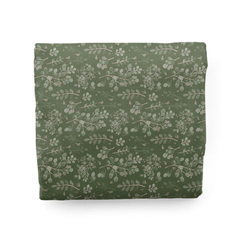 Farmhouse Greenery | Adult Size Blanket