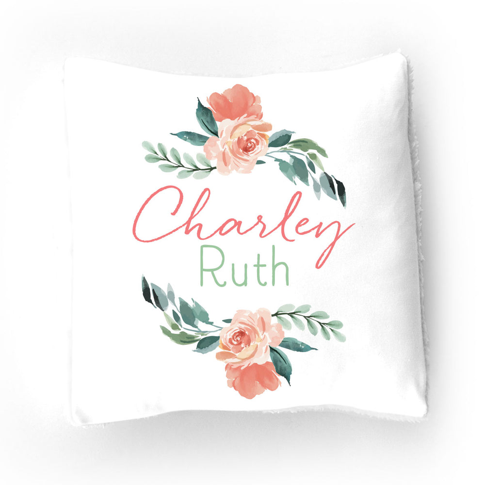 Sweet Blooms | Throw Pillow
