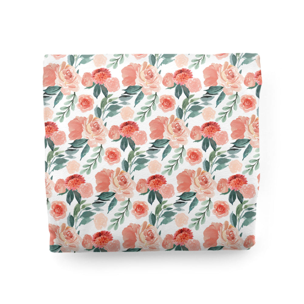 Sweet Blooms | Adult Size Blanket