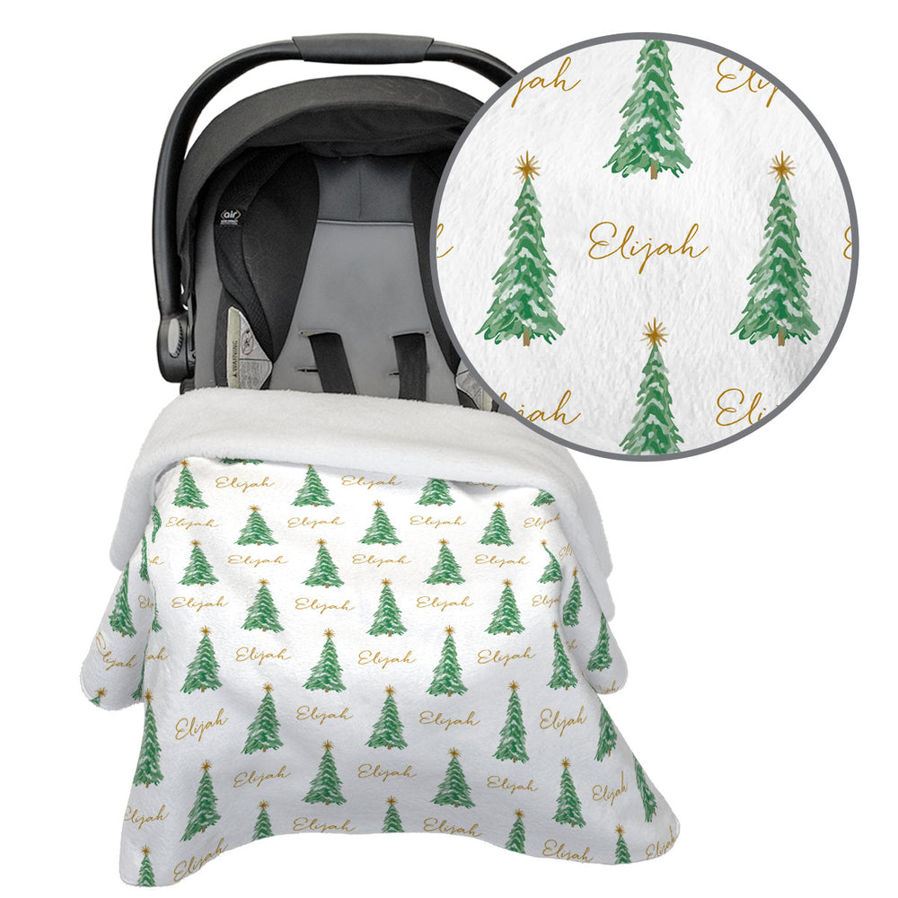 O Christmas Tree | Car Seat Blanket