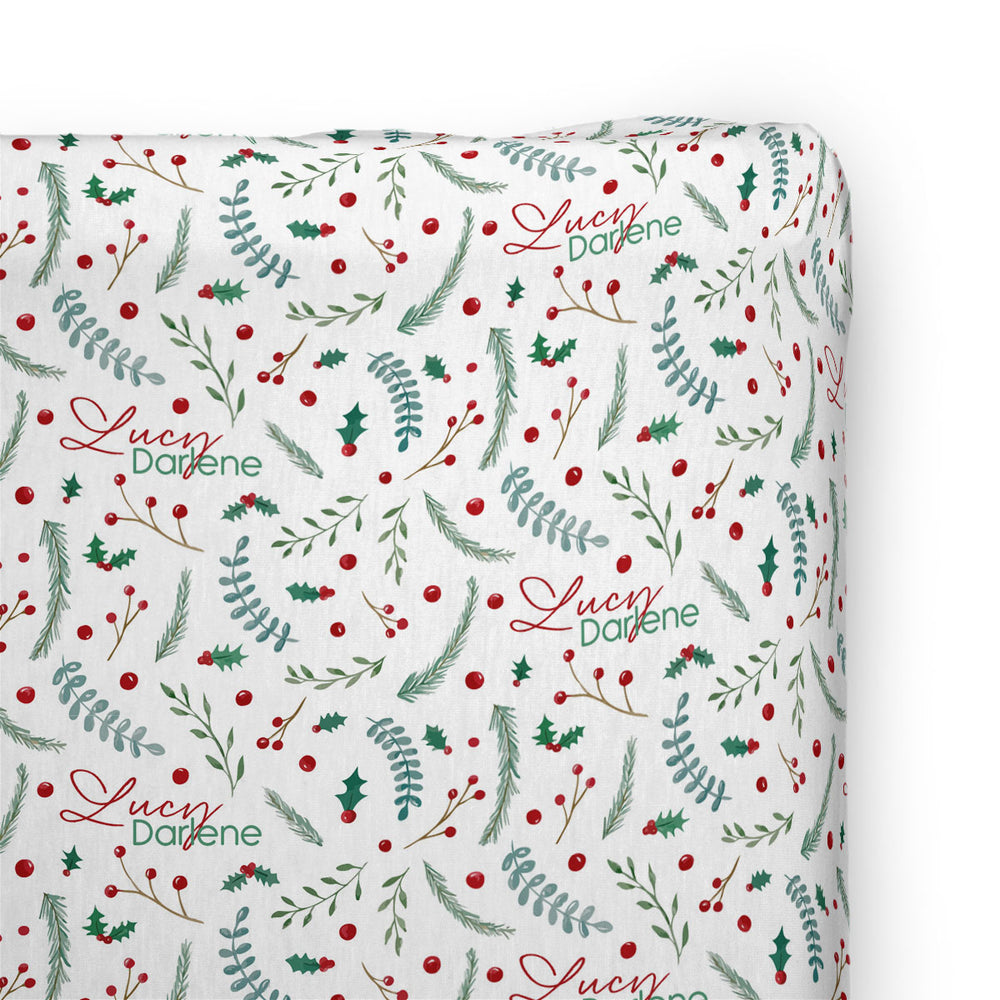 Holly Holiday | Changing Pad Cover