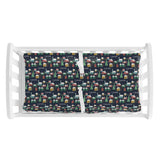 Navy Winter Village | Changing Pad Cover