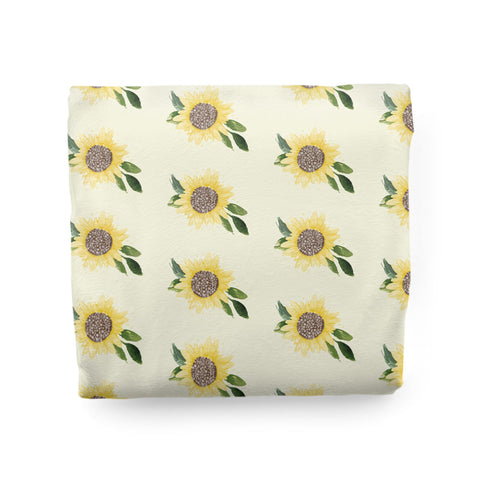 Sweet Sunflowers | Adult Size Blanket