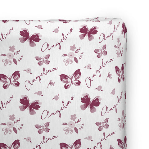Summer Butterfly | Changing Pad Cover