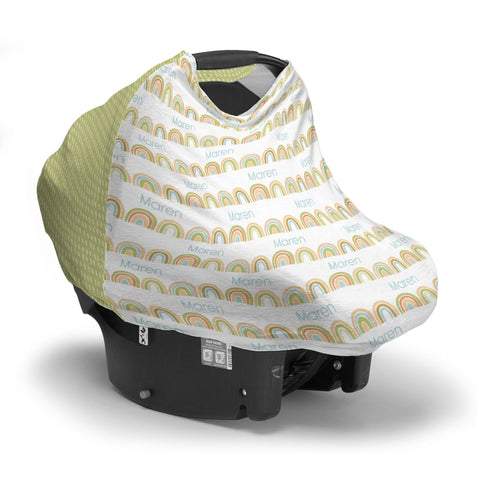 Brilliant Rainbow | Car Seat Cover