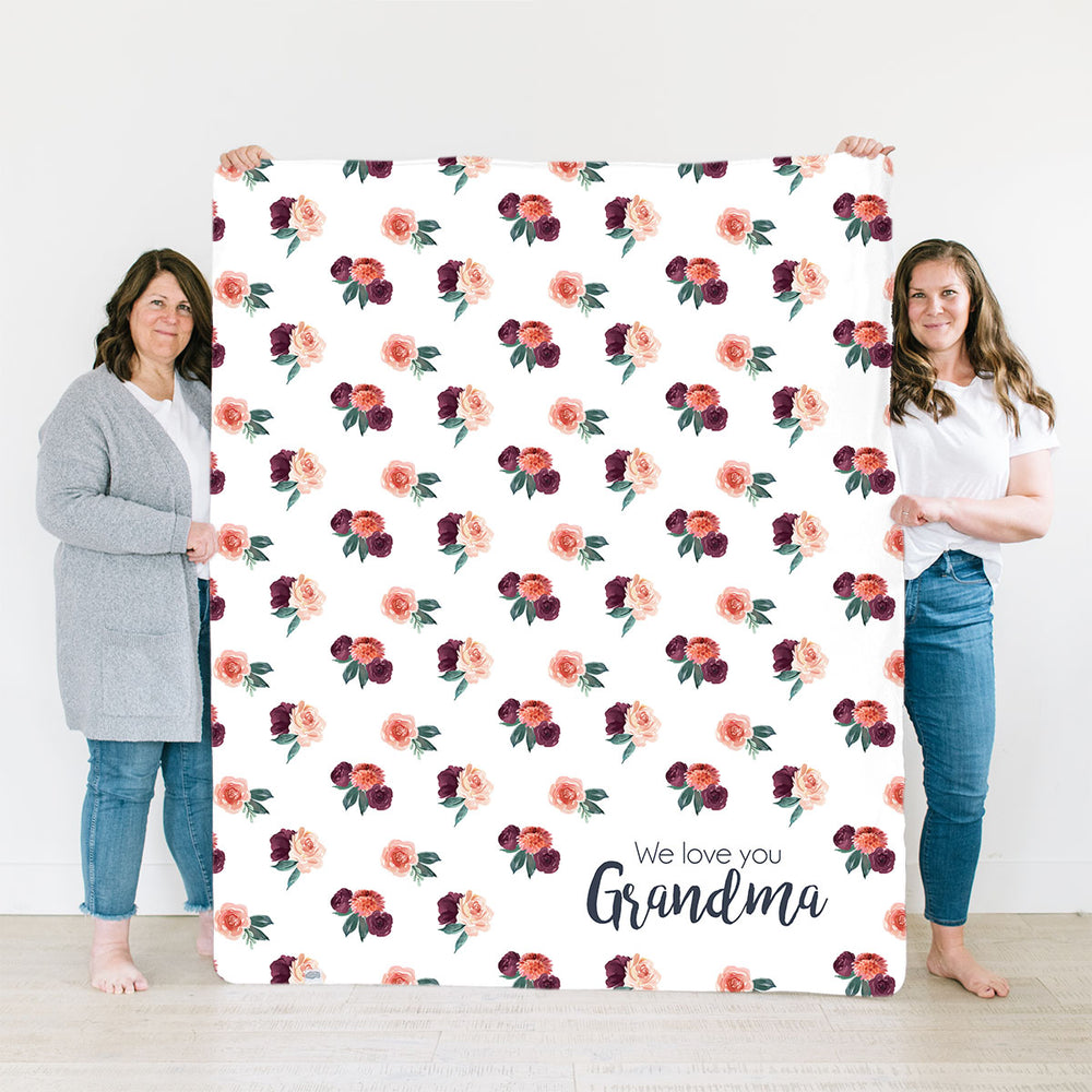 Autumn Rose | Family Name Blanket