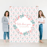 Beautiful Blossoms | Family Name Blanket