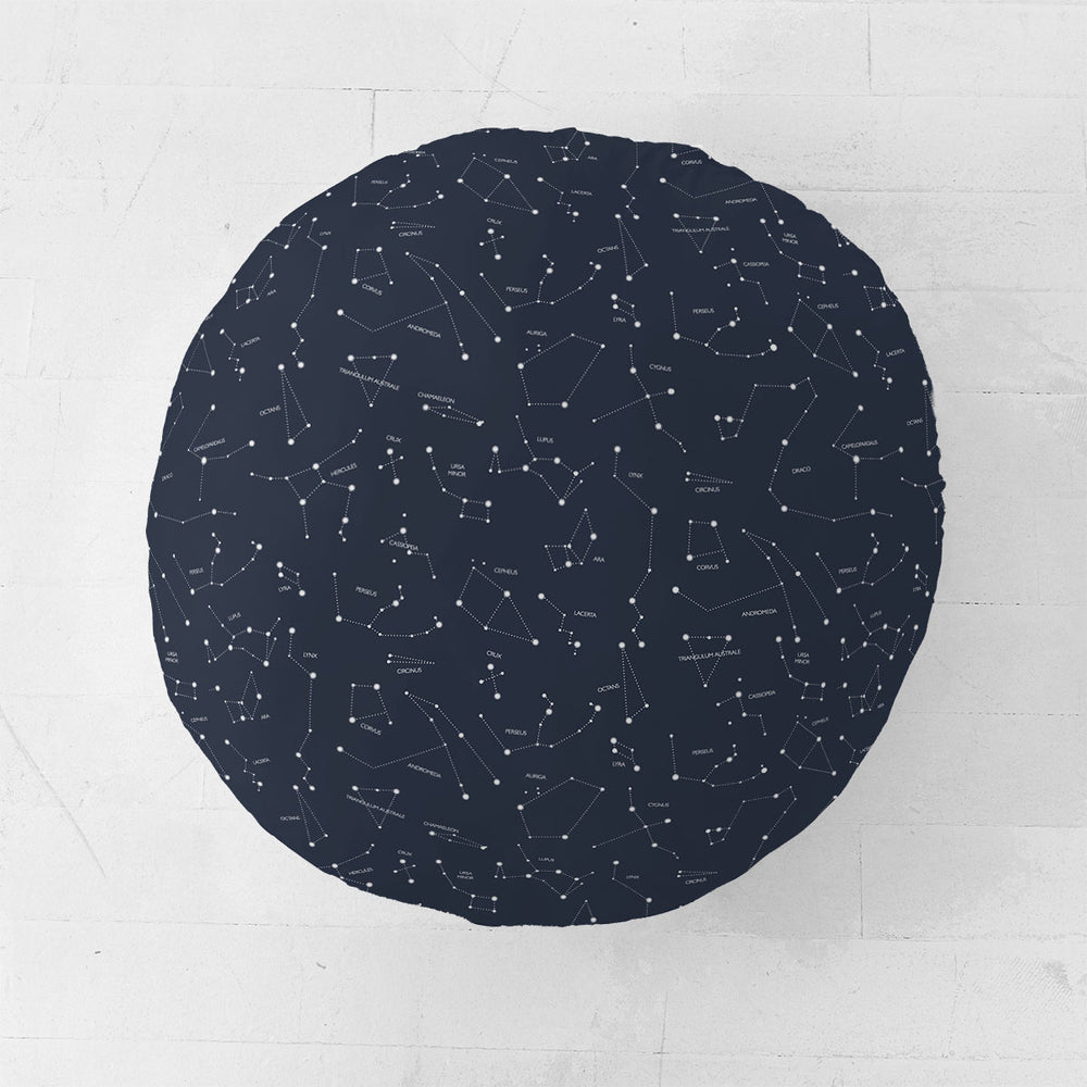 Captivating Constellations | Floor Pillow