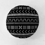 Customizable Oversized Floor Pillow | Playful Aztec