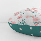 Customizable Oversized Floor Pillow | Beautiful Blossoms