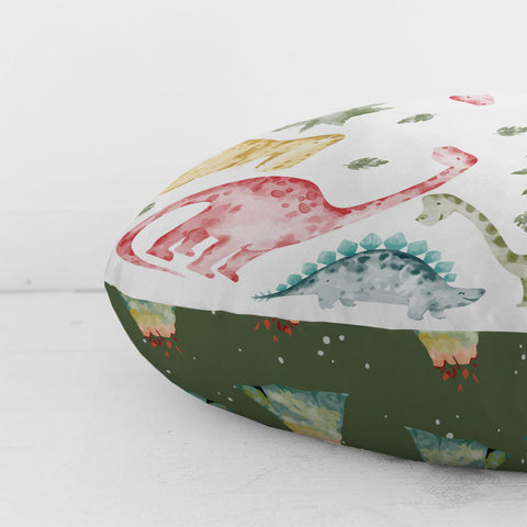 Customizable Oversized Floor Pillow | Dinosaur Dreams