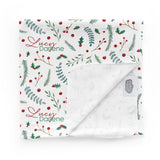 Holly Holiday | Swaddle Blanket