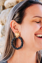 Load image into Gallery viewer, Yajaira Ramirez Jewelry Moon Hoops