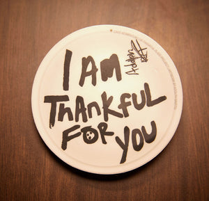 Thankful Plate Project Sticker - I Am Thankful For You