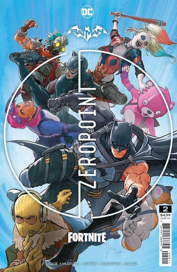 Batman Fortnite Zero Point #2 Cvr A