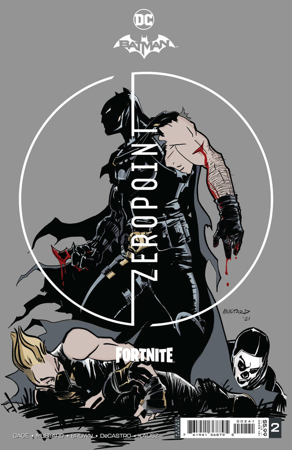 Batman Fortnite Zero Point #2 Premium Variant B