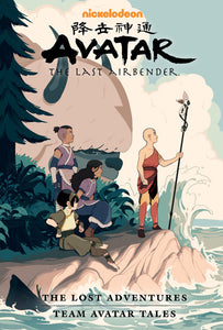 Avatar Last Airbender Lost Adventures Library Ed HC