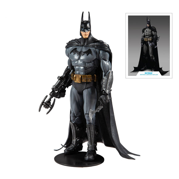 DC Gaming Arkham Asylum Batman 7 In Action Figure