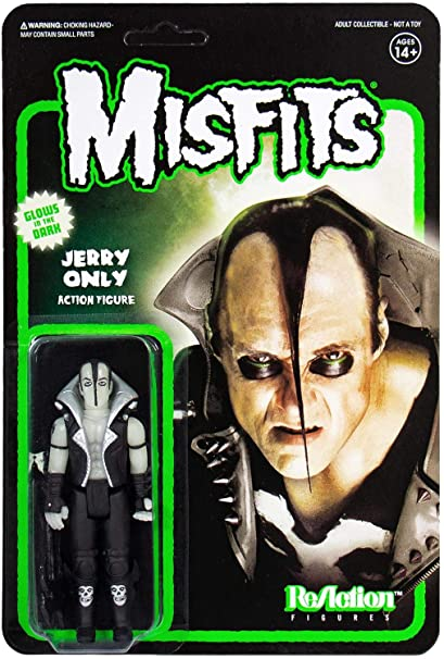 Misfits Reaction Jerry Only Glow Super7
