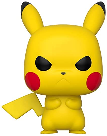 Pop Pokemon Pikachu Grumpy