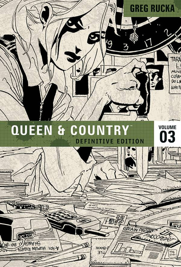 Queen & Country Definitive Ed Tp Vol 03