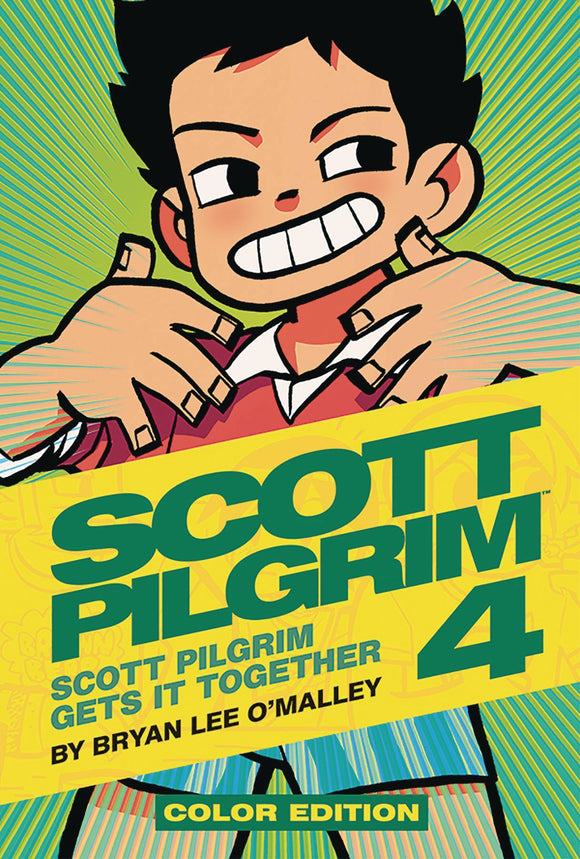 Scott Pilgrim Color Hc Vol 04 (Of 6)