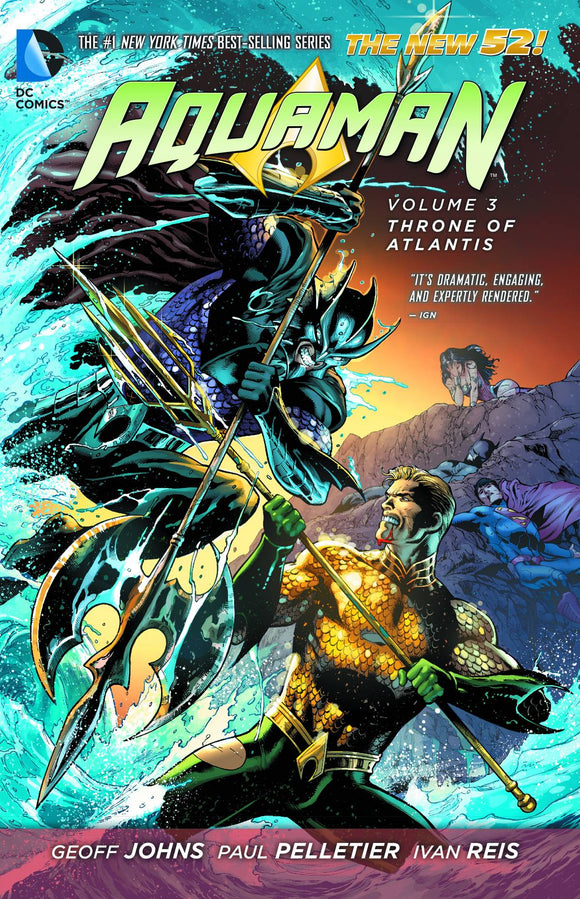 Aquaman Tp Vol 03 Throne Of Atlantis