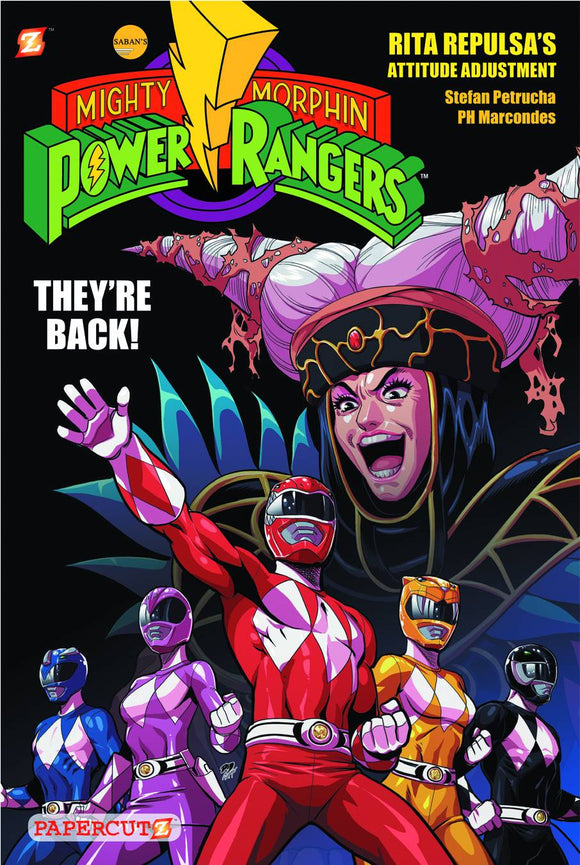 Mighty Morphin Power Rangers Gn Vol 01 Rita Repulsa