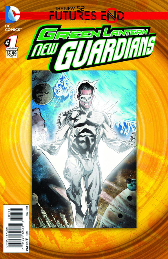 Green Lantern New Guardians Futures End #1