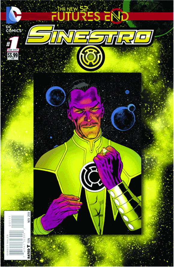 Sinestro Futures End #1