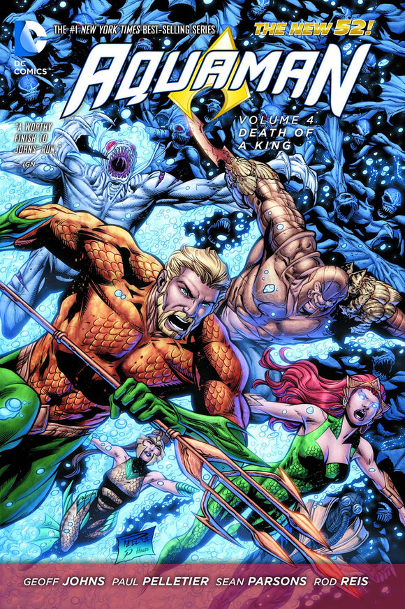 Aquaman Tp Vol 04 Death Of A King