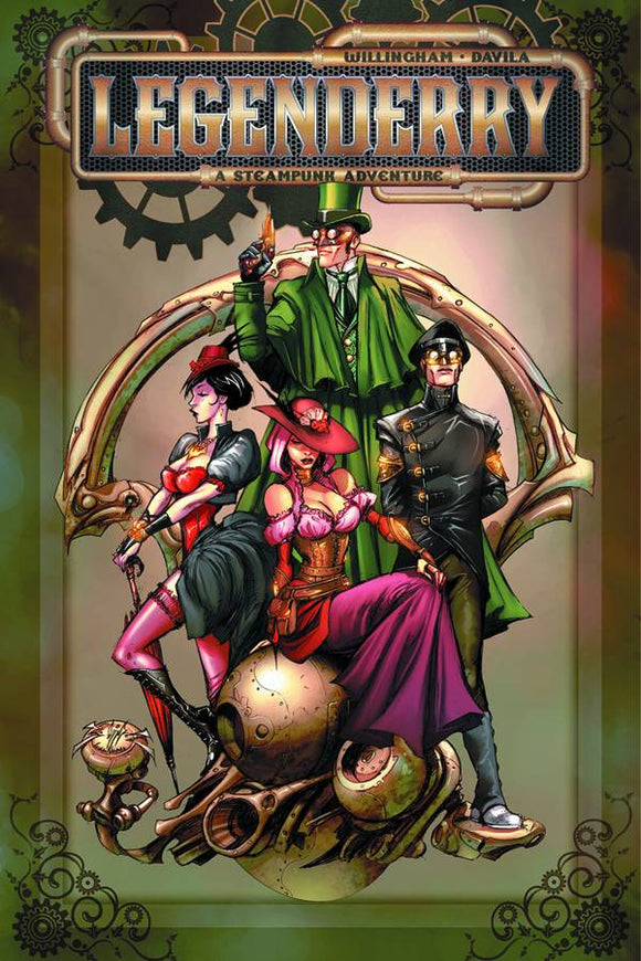 Legenderry A Steampunk Adv Tp